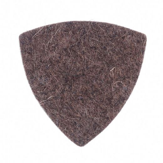 Felt Tones Gypsy Brown Wool Felt 1 Guitar Pick